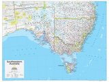 2014 Southeastern Australia - National Geographic Atlas of the World  10th Edition