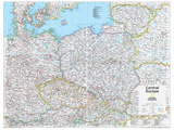 2014 Central Europe - National Geographic Atlas of the World  10th Edition