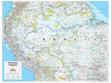 2014 Amazon Region - National Geographic Atlas of the World  10th Edition