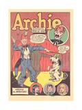 Archie Comics Retro: Archie Comic Panel Archie the Magician  (Aged)