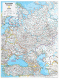 2014 European Russia - National Geographic Atlas of the World  10th Edition
