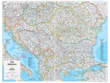 2014 The Balkans - National Geographic Atlas of the World  10th Edition