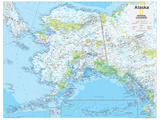 2014 Alaska - National Geographic Atlas of the World  10th Edition