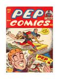 Archie Comics Retro: Pep Comic Book Cover No47 (Aged)