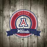 Arizona Wildcats Logo on Wood