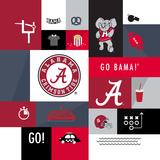 Alabama Crimson Tide Collage