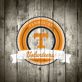 Tennessee Volunteers Logo on Wood