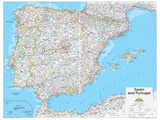 2014 Spain and Portugal - National Geographic Atlas of the World  10th Edition