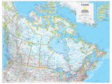 2014 Canada Political - National Geographic Atlas of the World  10th Edition