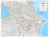 2014 The Caucasus - National Geographic Atlas of the World  10th Edition