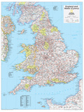 2014 England and Wales - National Geographic Atlas of the World  10th Edition