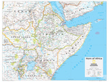 2014 Horn of Africa - National Geographic Atlas of the World  10th Edition
