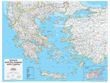 2014 Greece - National Geographic Atlas of the World  10th Edition