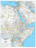 2014 Northeastern Africa - National Geographic Atlas of the World  10th Edition