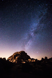 The Milky Way Above a Granite Dome in Joshua Tree National Park