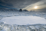 Entrance of the Lemaire Channel Along the Antarctic Peninsula