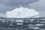 An Iceberg Floats in Fournier Bay  Antarctica