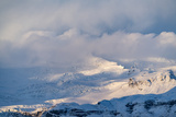Snowcapped Mountains in Southern Iceland
