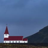 The Vik I Myrdal Church in Vik  Iceland