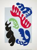Le Lagon Sérigraphie par Henri Matisse