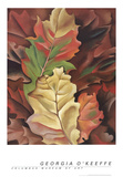 Autumn Leaves-Lake George Reproduction d'art par Georgia O'Keeffe