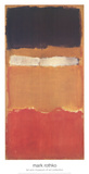 Sans titre Reproduction d'art par Mark Rothko