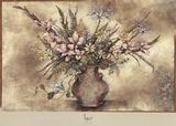 Fresco Floral IV