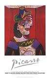 Bust of a Woman (Woman with a Hairnet) Reproduction d'art par Pablo Picasso