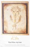 Angelus Novus Reproduction d'art par Paul Klee
