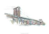 Watercolor Bridge Sketch II
