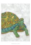 Turtle Friends I Reproduction d'art par Chariklia Zarris