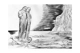 Bocca Degli Abati in the Lake of Ice by William Blake