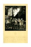British Troops Occupy Ypres by Frank Brangwyn