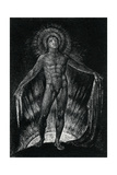 Milton Advancing Disrobed and Ungirded  from Page 13 of the Poem Milton by William Blake  1804-1811