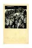 The Refugees Leaving Antwerp by Frank Brangwyn