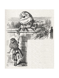 Humpty-Dumpty on the Wall