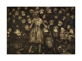 Washington Irvings Short Story Rip Van Winkle - Illustration by Arthur Rackham  1904