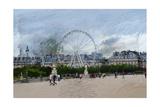 Paris Louvre Ferris Wheel