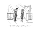 """""""If a sixth borough opens up  I'll let you know"""" - New Yorker Cartoon"""