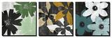 Bloomer Squares Tableau multi toiles par James Burghardt