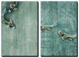Crossing Marble Tableau multi toiles par Farrell Douglass