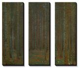 Forêt de pins, 1902 Tableau multi toiles par Gustav Klimt