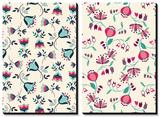 Tossed Tulip Garden Floral Patterns Tableau multi toiles