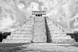 ¡Viva Mexico! B&W Collection - Chichen Itza Pyramid XI