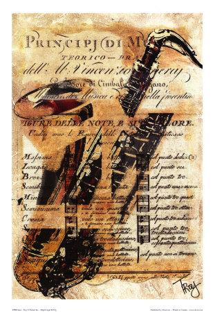 Saxo Art Print