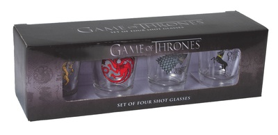 Game of Thrones - House Sigil Shot Glass Set Novelty
