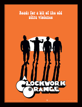occupy a clockwork orange meaningful violence