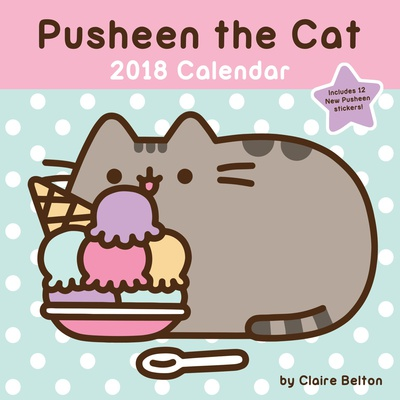 Pusheen the Cat - 2018 Calendar Calendars