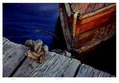 Kervin's Dock - Collectable Print