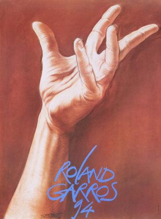 Roland Garros, 1994 Collectable Print